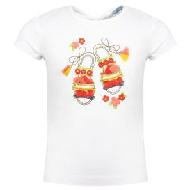 Sandal T Shirt White