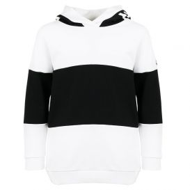 Hooded Sweatshirt Black & White