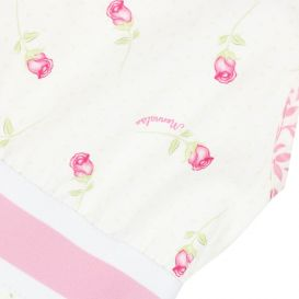 Wild Rose and Dragonfly Dress Ivory