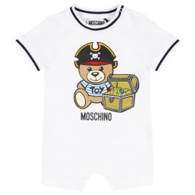 Moschino Pirate Romper White