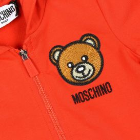 Red Teddy Logo Tracksuit