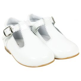 Patent Shoes White