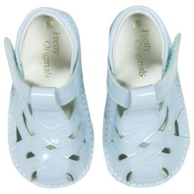 Shoes Pale Blue Patent