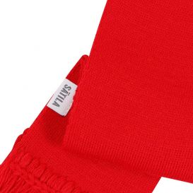 Collin Knitted Scarf Red