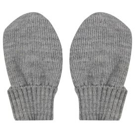 Trixie Knitted Mittens Grey