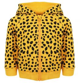 Cheetah Hoody Orange