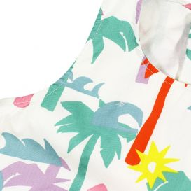 Palm Dress Multicoloured