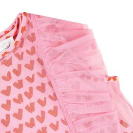 Tulle Heart Dress Pink