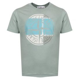 Faded Logo T Shirt Powder