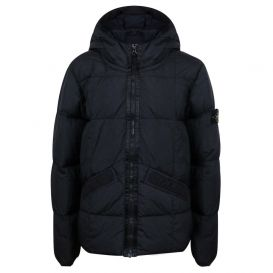Real Down Jacket Black