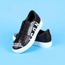 Icon Low Trainers Black